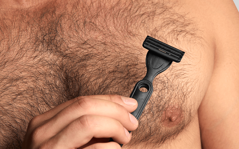 Body grooming - even if you're as hairy as a werewolf