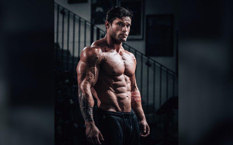 Shaving for work when you're bodybuilder Tavi Castro